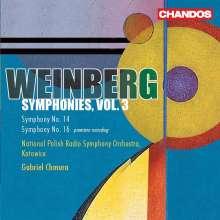 Mieczyslaw Weinberg (1919-1996): Symphonien Nr. 14 & 15, CD