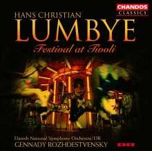 "Hans Christian Lumbye (1810-1874): Walzer,Polkas,Galopps,Mazurken - ""Festival at Tivoli"", CD"