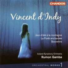 Vincent d'Indy (1851-1931): Orchesterwerke Vol.1, CD