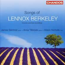 Lennox Berkeley (1903-1989): Lieder, CD