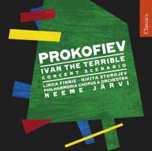 Serge Prokofieff (1891-1953): Iwan der Schreckliche (Concert Scenario), CD