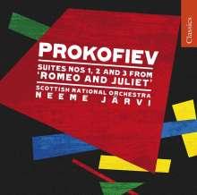 Serge Prokofieff (1891-1953): Romeo & Julia-Suiten op.64a-c, CD