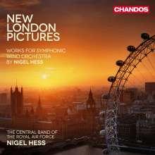 Nigel Hess (geb. 1953): Werke für Blasorchester Vol.2, CD