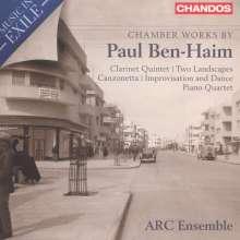 Paul Ben-Haim (1897-1984): Kammermusik, CD