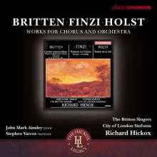 Englische Chormusik - Britten / Finzi / Holst, CD