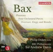 Arnold Bax (1883-1953): Phantasy für Viola & Orchester, CD