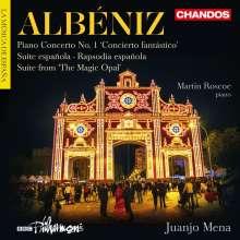 """Isaac Albeniz (1860-1909): Klavierkonzert Nr.1 """"Concierto fantastico"""", CD"""