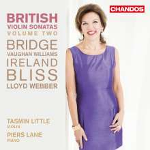 Tasmin Little & Piers Lane - British Violin Sonatas Vol.2, CD