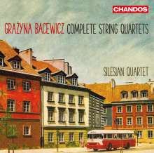 Grazyna Bacewicz (1909-1969): Sämtliche Streichquartette, 2 CDs