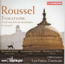 Albert Roussel (1869-1937): Evocations op.15, CD
