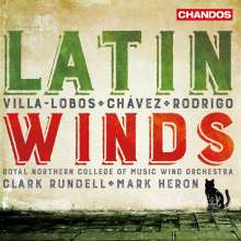 Royal Northern College of Music Wind Orchestra - Latin Winds, CD