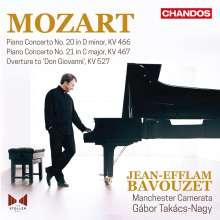 Wolfgang Amadeus Mozart (1756-1791): Klavierkonzerte Nr.20 & 21, CD