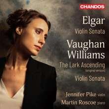Ralph Vaughan Williams (1872-1958): Sonate für Violine & Klavier a-moll, CD