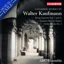 Walter Kaufmann (1907-1984): Kammermusik, CD