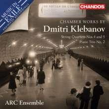 Dmitri Lvovich Klebanov (1907-1987): Streichquartette Nr.4 & 4, CD