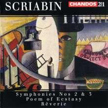 Alexander Scriabin (1872-1915): Symphonien Nr.2 & 3, 2 CDs