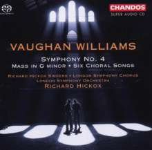Ralph Vaughan Williams (1872-1958): Symphonie Nr.4, Super Audio CD
