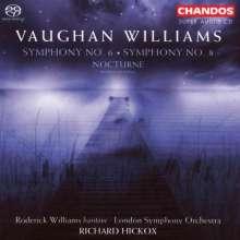 Ralph Vaughan Williams (1872-1958): Symphonien Nr.6 & 8, Super Audio CD