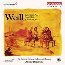 Kurt Weill (1900-1950): Symphonien Nr.1 & 2, Super Audio CD