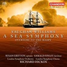 "Ralph Vaughan Williams (1872-1958): Symphonie Nr.1 ""A Sea Symphony"", Super Audio CD"