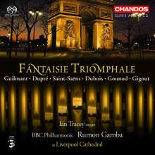 Fantaisie Triomphale - Musik für Orgel & Orchester, Super Audio CD