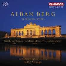 Alban Berg (1885-1935): Orchesterwerke, 2 Super Audio CDs