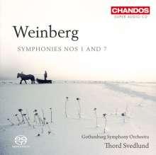 Mieczyslaw Weinberg (1919-1996): Symphonien Nr.1 & 7, Super Audio CD