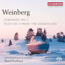 Mieczyslaw Weinberg (1919-1996): Symphonie Nr.3, Super Audio CD