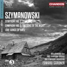 Karol Szymanowski (1882-1937): Symphonien Nr.1 & 3, Super Audio CD