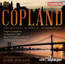 Aaron Copland (1900-1990): Orchesterwerke Vol.2 - Symphonien, Super Audio CD