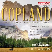 Aaron Copland (1900-1990): Orchesterwerke Vol.3 - Symphonien, Super Audio CD