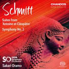 Florent Schmitt (1870-1958): Symphonie Nr.2 op.137, Super Audio CD
