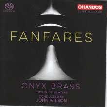Onyx Brass - Fanfares, Super Audio CD