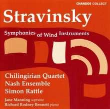 Igor Strawinsky (1882-1971): Kammermusik, CD