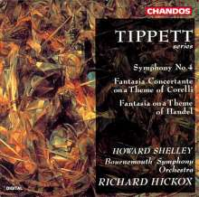 Michael Tippett (1905-1998): Symphonie Nr.4, CD
