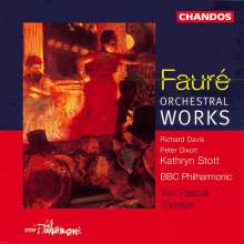 Gabriel Faure (1845-1924): Masques et Bergamasques - Suite op.112, CD