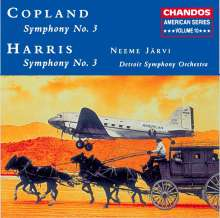 Roy Harris (1898-1979): Symphonie Nr.3, CD