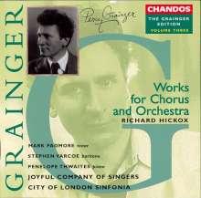 Percy Grainger (1882-1961): Percy Grainger Edition Vol.3, CD