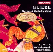 Reinhold Gliere (1875-1956): Ouvertüren, CD