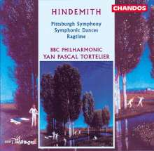 Paul Hindemith (1895-1963): Pittsburgh Symphony, CD