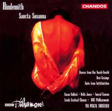 Paul Hindemith (1895-1963): Sancta Susanna (Oper in einem Akt), CD