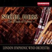 Nigel Hess (geb. 1953): Werke für Blasorchester, CD