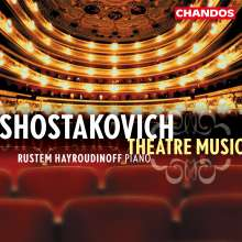 Dmitri Schostakowitsch (1906-1975): Theatermusik für Klavier, CD