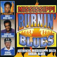 Mississippi Burnin' Blues, CD