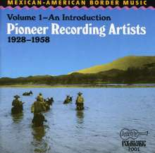Mexican-American Border Music Vol.1, CD
