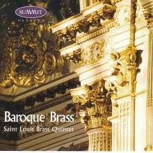 Saint Louis Brass Quintet - Baroque Brass, CD