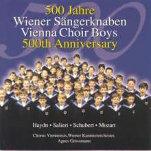 500 Jahre Wiener Sängerknaben, CD