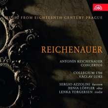 Johann Anton Reichenauer (1694-1730): Concerti I, CD