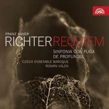 Franz Xaver Richter (1709-1789): Messa de Requiem a 16 voci, CD