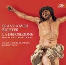 Franz Xaver Richter (1709-1789): La Deposizione (Oratorium), 2 CDs